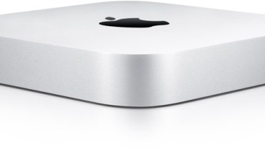 The current Mac Mini design.
