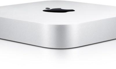 The current Mac Mini design.