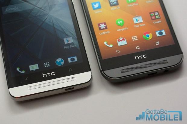 New HTC One M8 vs - M7 21-X3