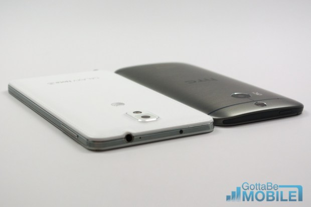 New HTC One M8 vs - Note3 19-X3