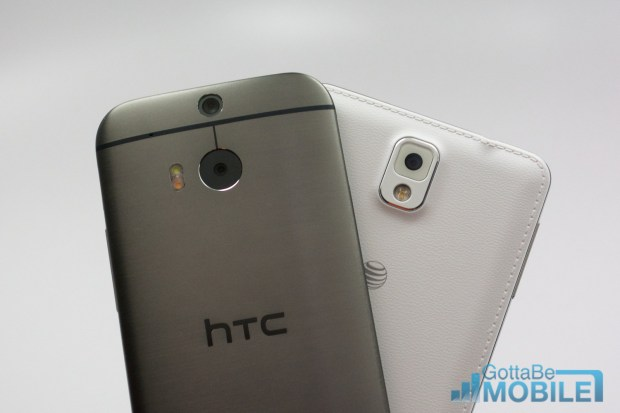 New HTC One M8 vs - note3 22-X3