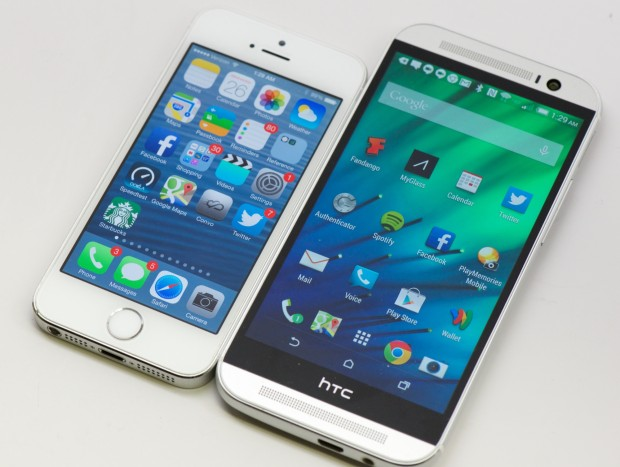 Quickly switch from an iPhone to the HTC One M8.