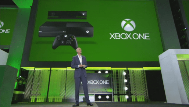 Microsoft, announcing more details about the Xbox One at E3 2013.