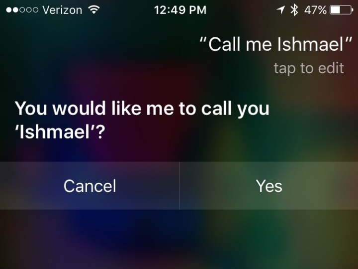Use this Siri prank to trick your friends.