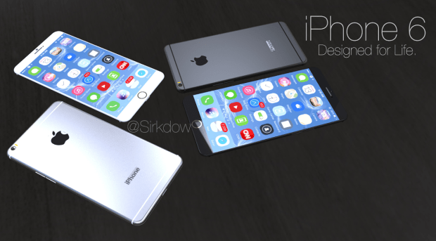 iPhone 6 rumors point to a larger iPhone display.