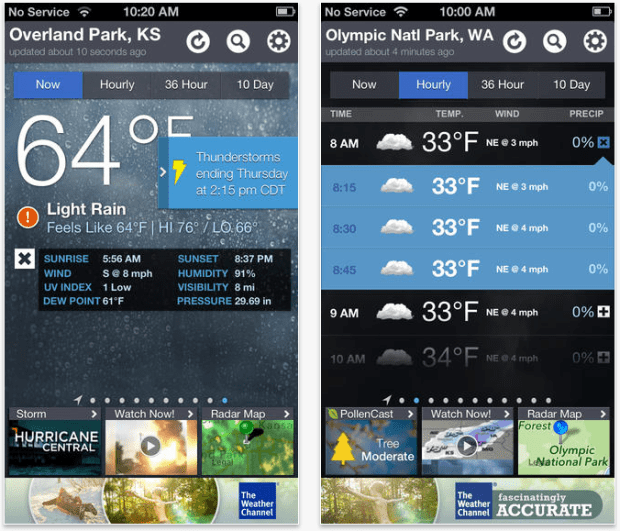 5 Best Weather Apps for iPhone