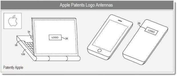 Apple patented a logo that acts as an antenna.