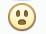 Facebook Emoticon Gasp