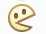 Facebook Emoticon Pac Man