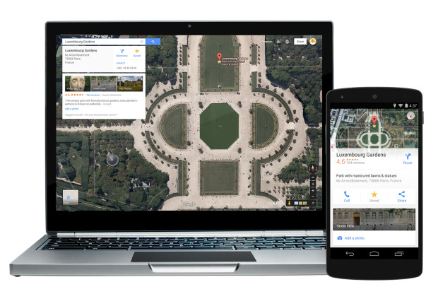 Google-Maps-devices