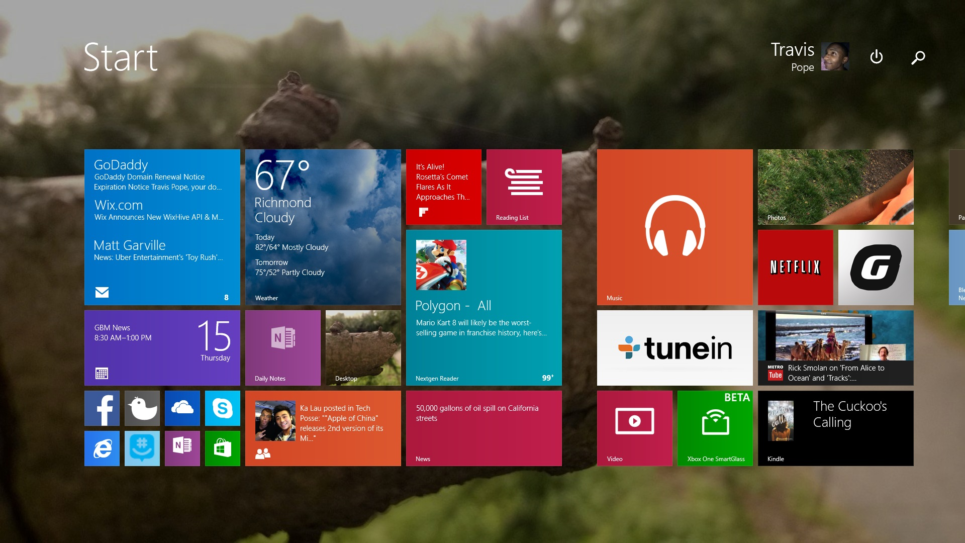 How To Customize The Windows 81 Lock Screen 1