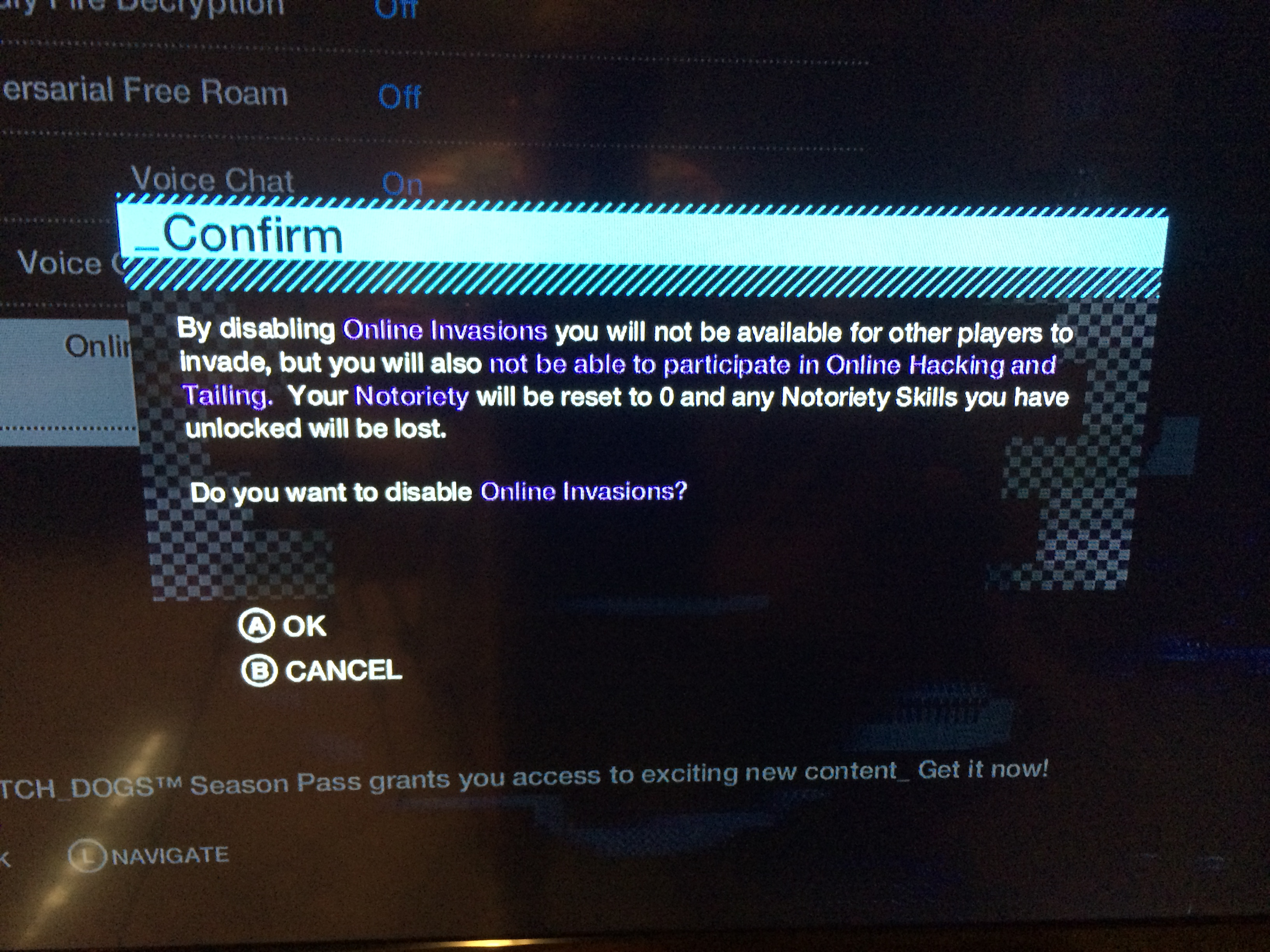 How to Turn Off Watch Dogs Multiplayer Hacking and Tailing