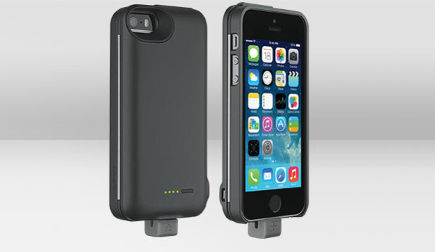 The [+] energy part is a iPhone 5 or iPhone 5s battery case.