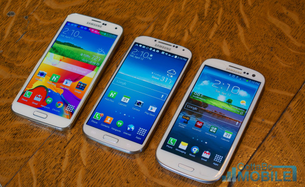 Samsung-Galaxy-S5-vs-Galaxy-S4-vs-Galaxy-S3-Display-Hero-2-620x380