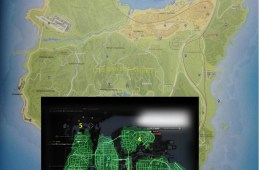 Watch Dogs vs GTA 5 map comparison.