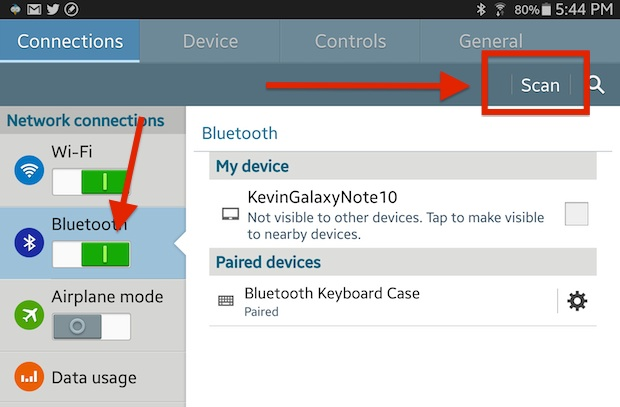 android bluetooth pairing