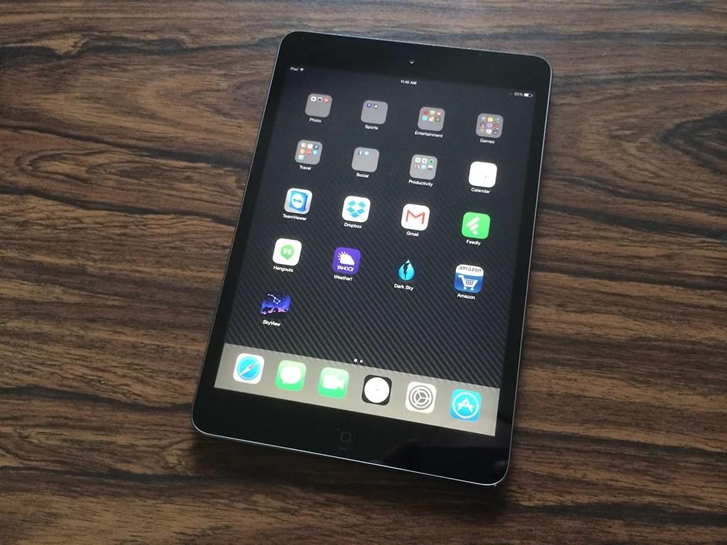 iOS 8.1.3 on iPad mini 2: Impressions & Performance