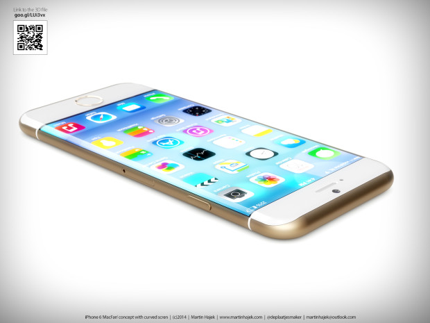 Curved iPhone 6 Concept