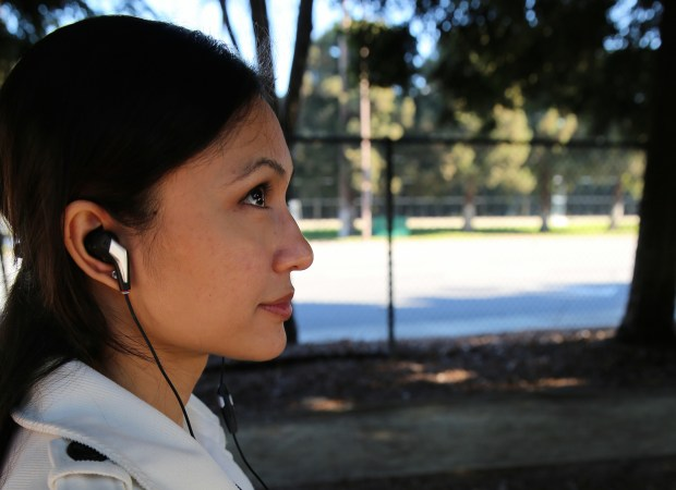 Apple EarPods with sensors could look as normal as these heart rate sensing smart headphones. (Intel Free Press)
