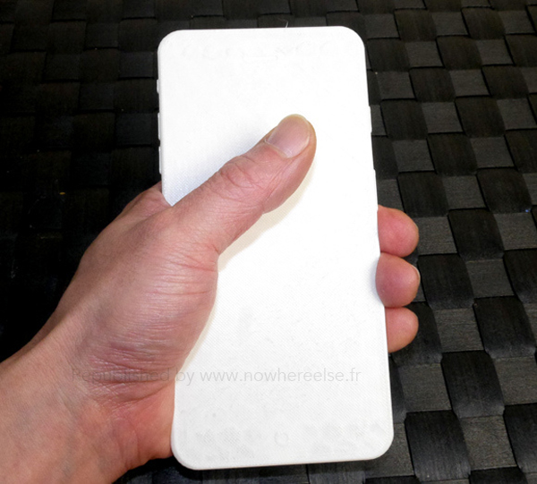 Expect the largest iPhone 6 screen size to require two hands for optimal use.