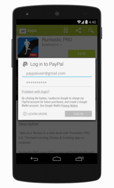 Google Play Store Update Adds PayPal Support (Download)