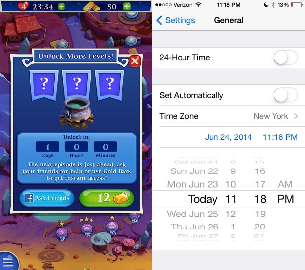 Unlock more Bubble Witch 2 Saga levels without paying or asking Facebook friends.