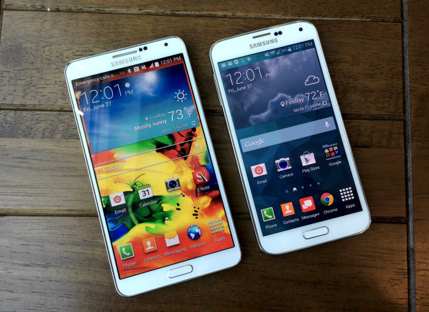 The 5.7-inch display is still a great size for the Galaxy Note 4.