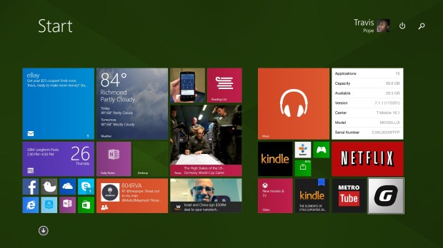Guide to the Windows 8 Start Screen With a Mouse and Keyboard (1)