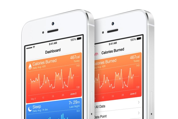 Track your health with the new Health app in iOS 8.