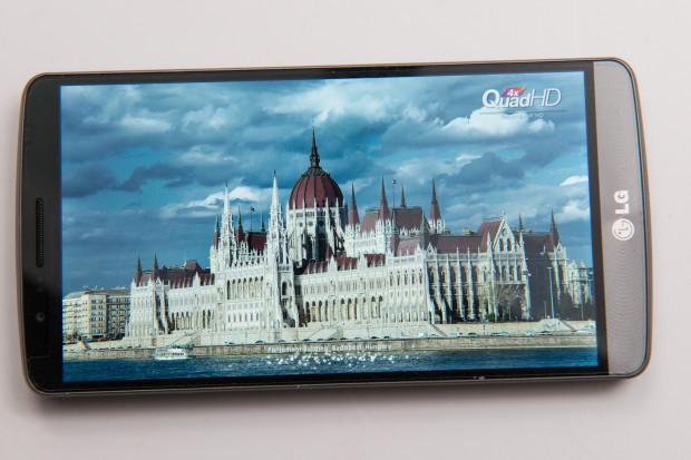 LG G3 Review unit display