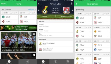 As fans prepare to watch the USA vs Ghana match live, World Cup apps take over the top charts and games trend on Twitter and Facebook.