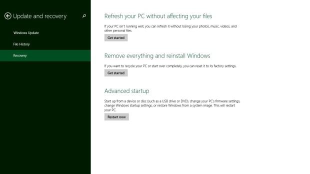 Windows 8 Recovery