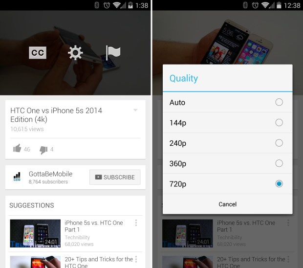 How to Change YouTube Quality on Android
