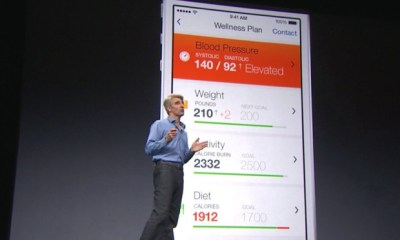 iOS 8 health and fitness