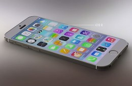 Here's an iPhone 6 concept with iOS 8 on board.
