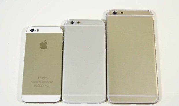 See just how big the 5.5-inch iPhone 6 could be this fall.
