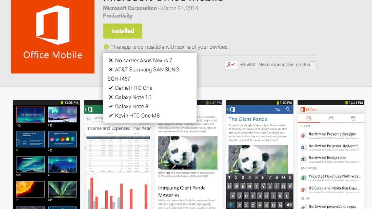 How To Install Microsoft Office Mobile on Unsupported Android Tablets