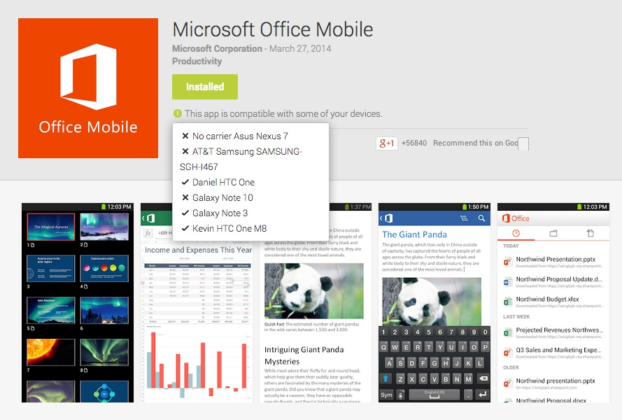How To Install Microsoft Office Mobile On Unsupported