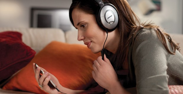 bose quitecomfort headphones with in-line controls