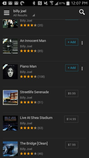 amazon prime music limitations