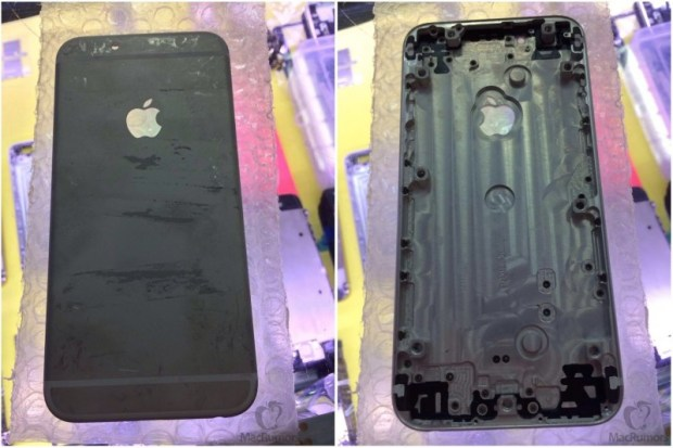 A black iPhone 6 that many shoppers may want this fall.