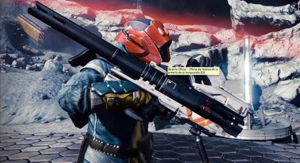 Check out the Destiny preorder bonus gear.