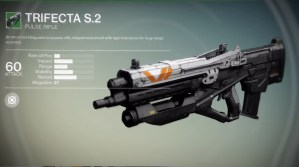 Destiny preorder Bonus Weapons - 3