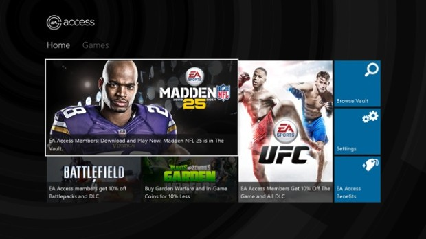 With EA Access you can play Madden 15 early, and other EA games like NHL 15, FIFA 15 and NBA Live 15.