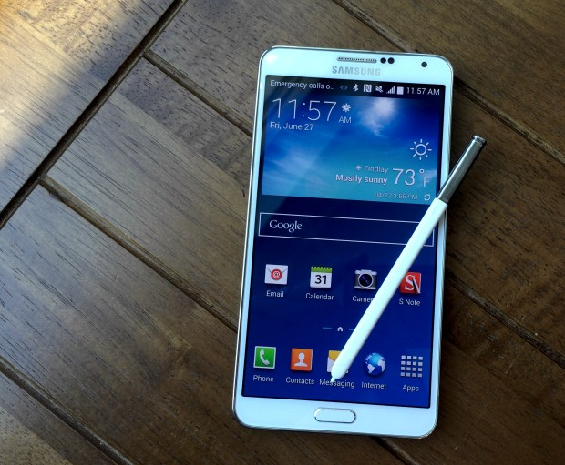The Galaxy Note 4 feature list includes a UV sensor that can help keep your skin healthy.