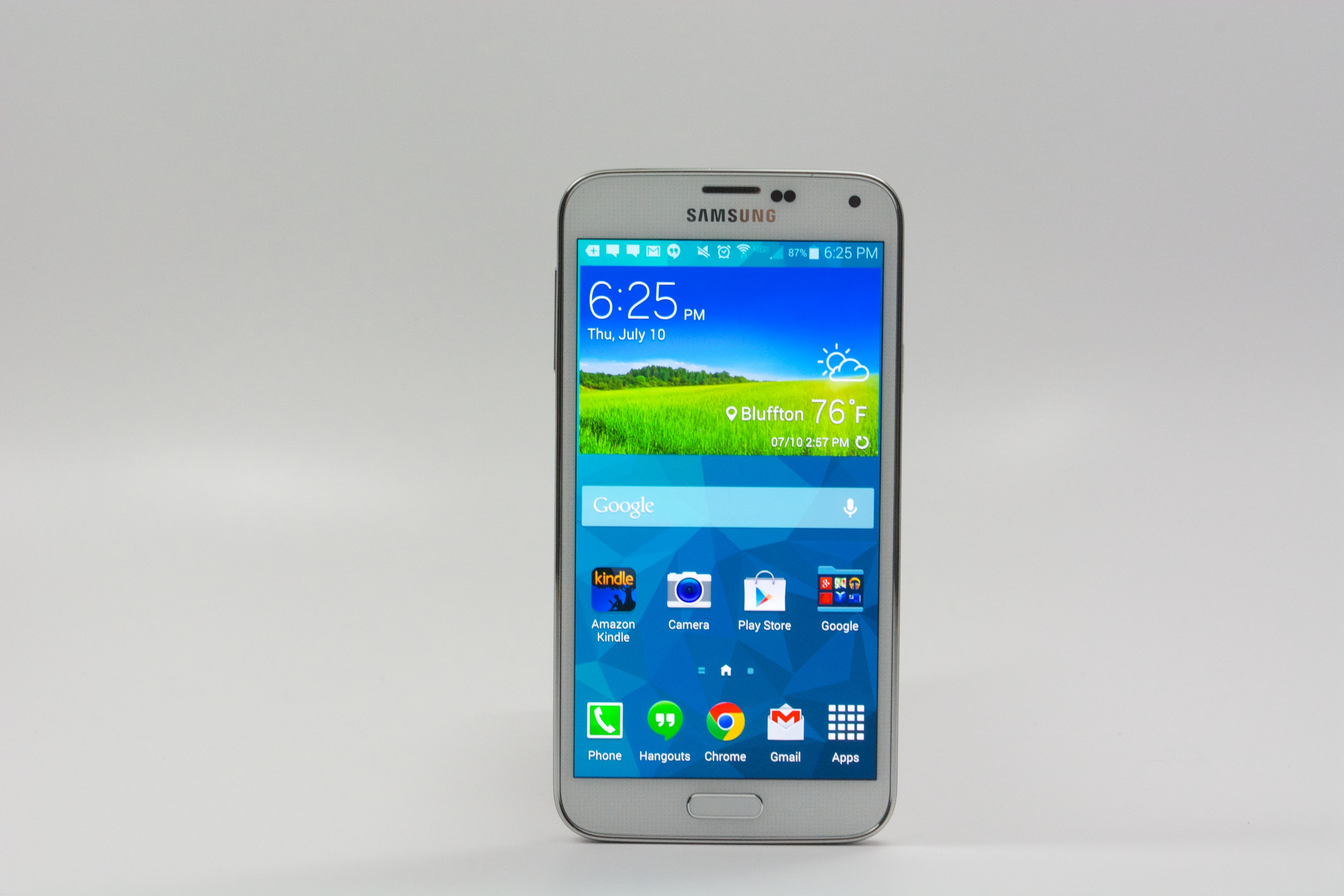How to delete email from samsung galaxy s5