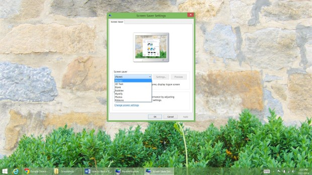How to Add a Screen Saver to Windows 8 (7)