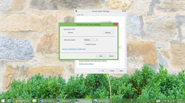 How to Add a Screen Saver to Windows 8 (8)