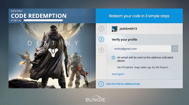 When you sign up you will use an identity and link it to a Bungie profile.
