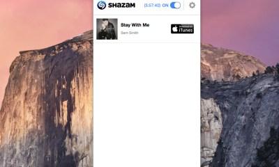 Shazam Mac app